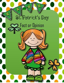 FREE St. Patrick's Day Fact or Opinion