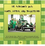 St. Patrick's Day - Facts and tales SmartBoard activities