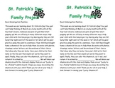 St. Patrick's Day Family Project