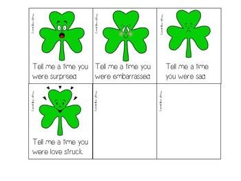 St. Patrick's Day Feelings FREEBIE!