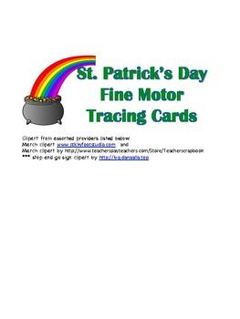 St. Patricks Day Fine Motor Tracing