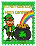 St. Patrick's Day -Five Math Centers-Standards Based