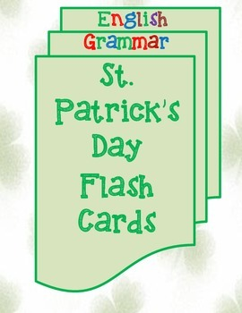 St. Patrick's Day Flash Cards-English Grammar
