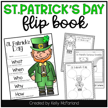 St. Patrick's Day {Flip Book and Printables}