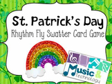 St. Patrick's Day Rhythm Fly Swatter Card Game