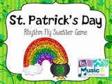 St. Patrick's Day Rhythm Fly Swatter Game