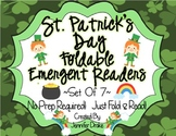 St. Patrick's Day Foldable Emergent Readers ~Set of 7~ CC Aligned!