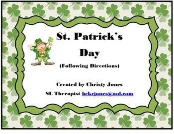 St Patrick's Day Following Directions