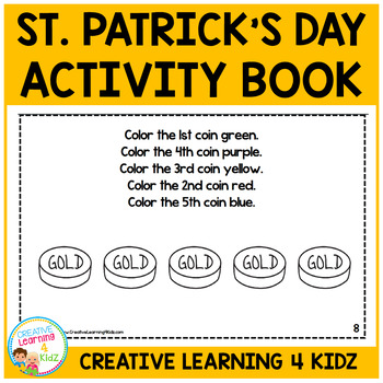 St. Patrick's Day Following Directions Book