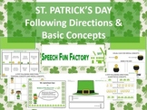 St. Patrick's Day - Following Directions and Basic Concept