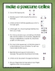 St. Patrick's Day Fortune Teller Patterns