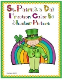 St. Patrick's Day Fraction Color By Number Activity {4th Grade Common Core}
