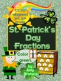 St. Patrick's Day Fraction Problem Solving Activities for