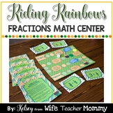 St. Patrick's Day Fractions Game, Math Center