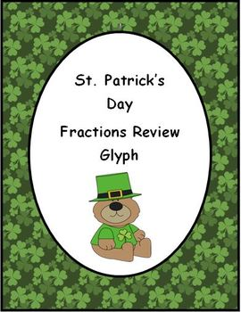 St. Patrick's Day: Fractions Review Glyph