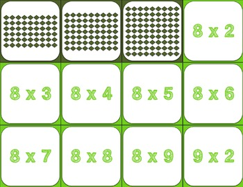 St. Patrick's Day FREE: St. Patrick's Day Multiplication Facts Game