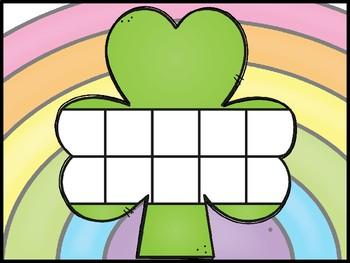 St. Patrick's Day ten frame game free