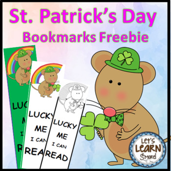 St. Patrick's Day Bookmarks (Free) March Activities