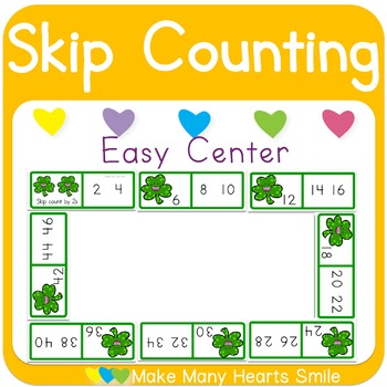 St Patrick's Day Skip Counting Game
