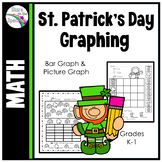 St. Patrick's Day Activities Graphing (Bar Graphs and Pict
