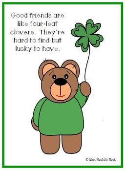 St. Patrick's Day Card - Free Printable