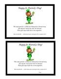 St. Patrick's Day Free Homework Pass