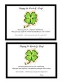 St. Patrick's Day Free Journal Pass