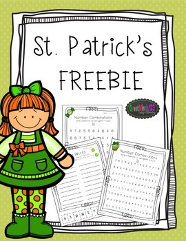 St. Patrick's Day Activities - Free