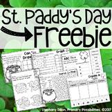 St. Patricks Day Freebie!