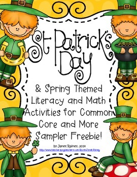 St. Patrick's Day and Spring Freebie