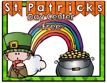 Free St. Patrick's Day Center
