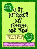 https://www.teacherspayteachers.com/Product/St-Patricks-Day-Freebie-How-Many-Shamrock-Leaves-214320