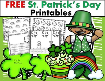 St. Patrick's Day & March No Prep Freebies