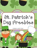 St. Patrick's Day Freebies (March)