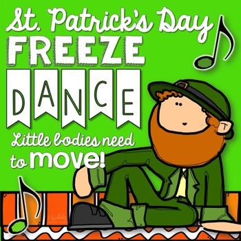 Brain Break - St. Patrick's Day Freeze Dance