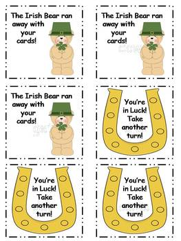 St. Patrick's Day Fry Sight Word Game