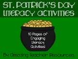St. Patrick's Day Fun! A packet full of St. Patrick's Day Literacy Activities!