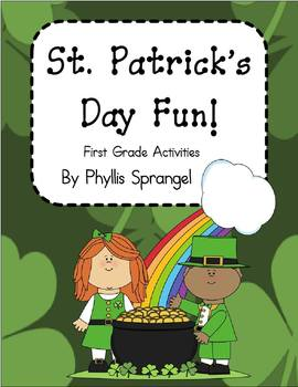 St. Patrick's Day Fun!  Activities for First Grade