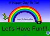 St. Patrick's Day Fun Activity File