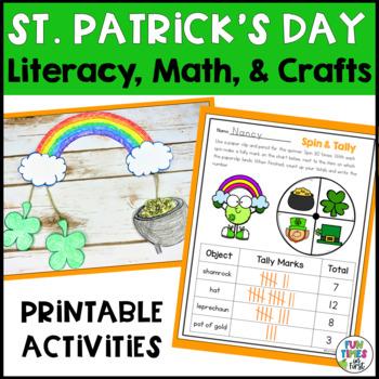 St. Patrick's Day Fun! (CCSS Aligned Math & ELA Activities