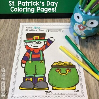 St. Patrick's Day Coloring Pages - 41 Pages of St. Patrick's Day Coloring Fun