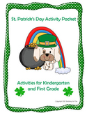 St. Patrick's Day Fun (K1) Science,Math,Reading, Social Studies, & Writing