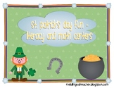 St. Patrick's Day Fun: Literacy and Math Centers
