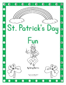 St. Patrick's Day Math Fun Packet