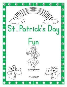 St. Patrick's Day Math Fun Packet