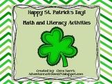 St. Patrick's Day Fun Math and Literacy Unit