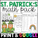 My St. Patrick's Day Activity Packet