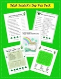 St. Patrick's Day Fun: Rhymes,Word Scramble, Word Search, Anagrams