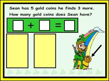 St. Patrick's Day Fun: SMART BOARD Magical Leprechaun Math