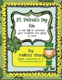 St. Patrick's Day Fun Unit